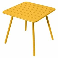 Luxembourg Outdoor Table 80cm x 80cm in colour Honey from Luxembourg Modern Outdoor Furniture
