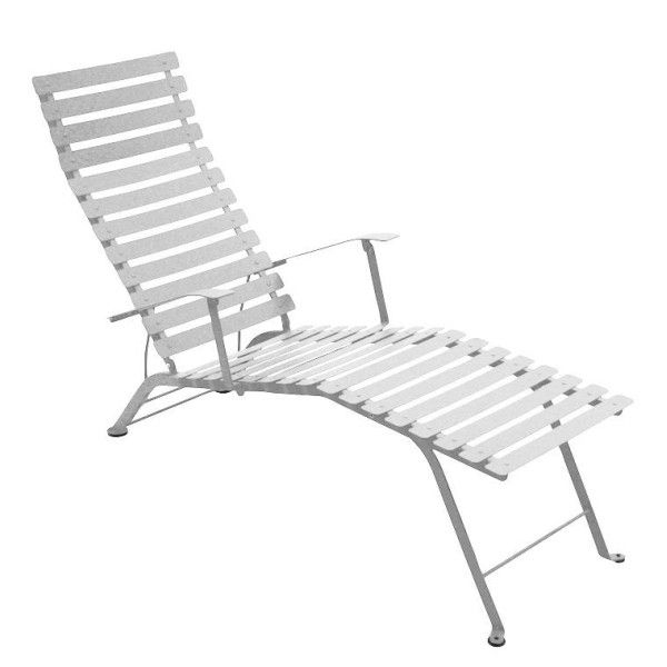 Fermob Bistro Deck Chair in Steel Grey