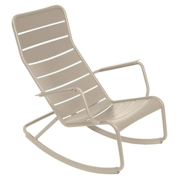 Fermob Luxembourg Rocking Chair in Nutmeg
