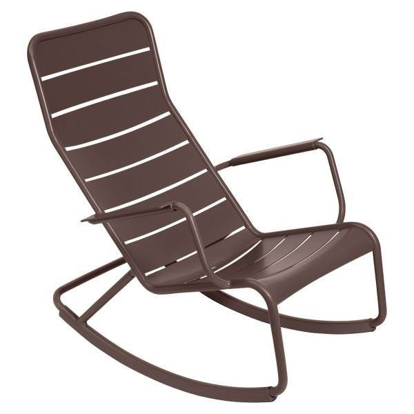 Fermob Luxembourg Rocking Chair in Russet