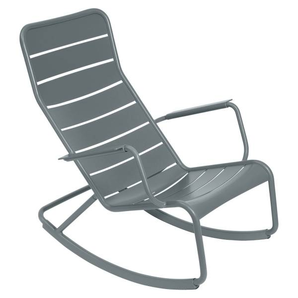 Fermob Luxembourg Rocking Chair in Storm Grey