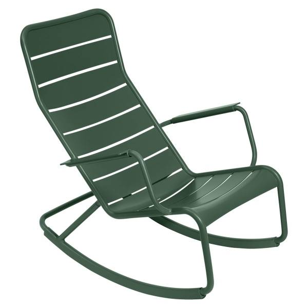 Fermob Luxembourg Rocking Chair in Cedar Green