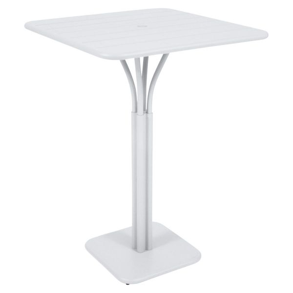 Fermob Luxembourg High Table in Cotton White