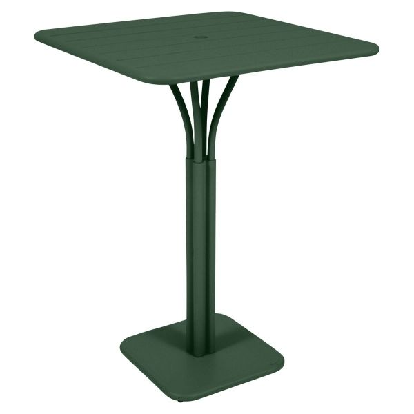 Fermob Luxembourg High Table in Cedar Green