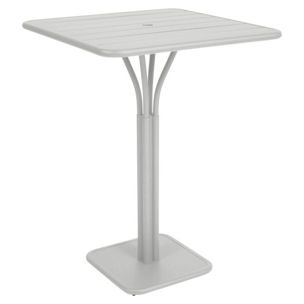 Fermob Luxembourg High Table in Steel Grey