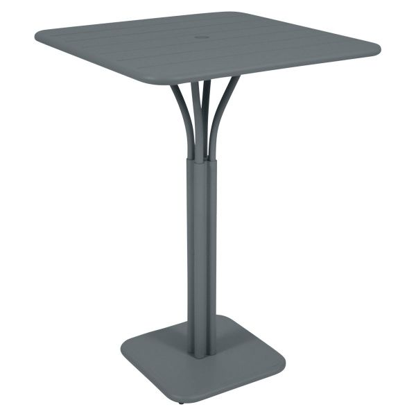 Fermob Luxembourg High Table in Storm Grey
