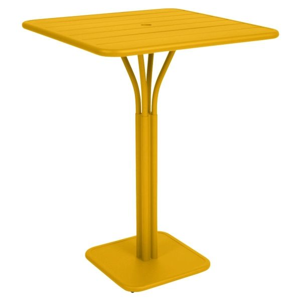 Fermob Luxembourg High Table in Honey
