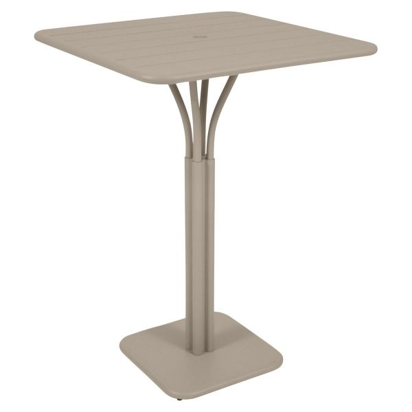 Fermob Luxembourg High Table in Nutmeg