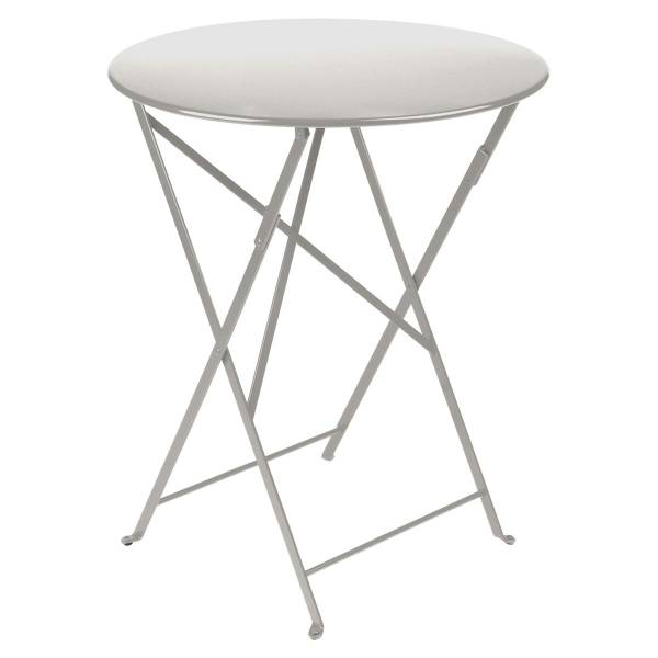 Fermob Bistro Table Round 60cm in Steel Grey