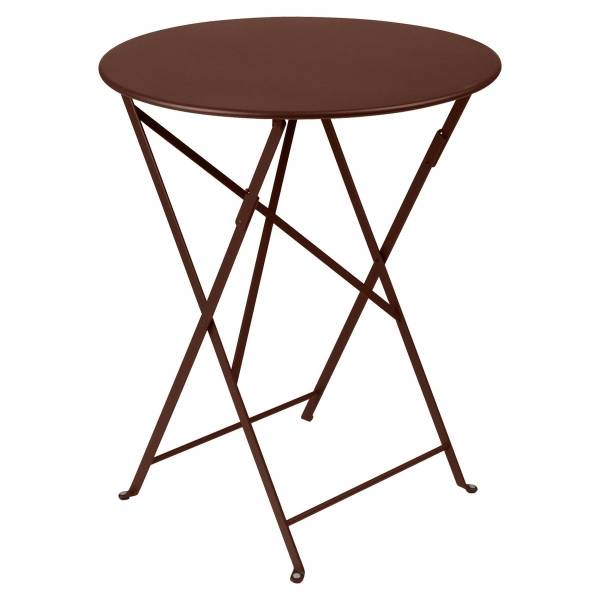 Fermob Bistro Table Round 60cm in Russet