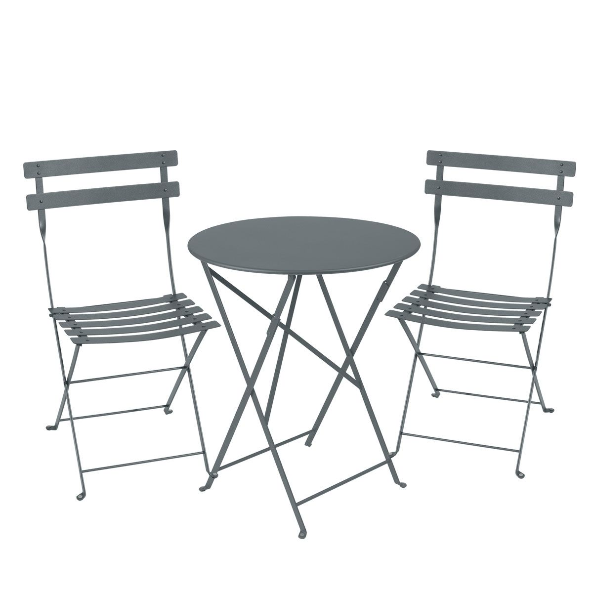 bistro setting 60cm table and 2 chairs bistro outdoor furniture jardin. Black Bedroom Furniture Sets. Home Design Ideas