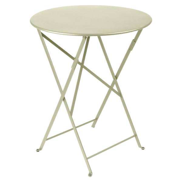 Fermob Bistro Table Round 60cm in Willow Green