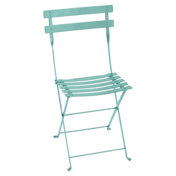 Fermob Bistro Folding Chair in Lagoon Blue