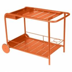 Luxembourg Outdoor Bar Trolley in colour Carrot from Luxembourg Modern Outdoor Furniture