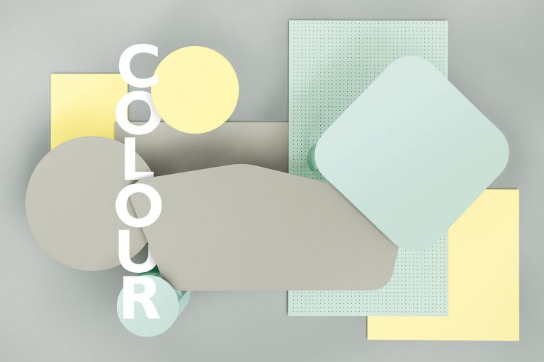 Fermob Colours for 2020 season at Jardin. Clay Grey, Ice Mint, and Frosted Lemon