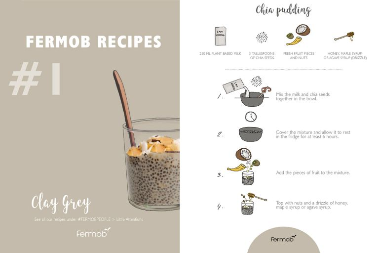Fermob Chia Pudding Recipe