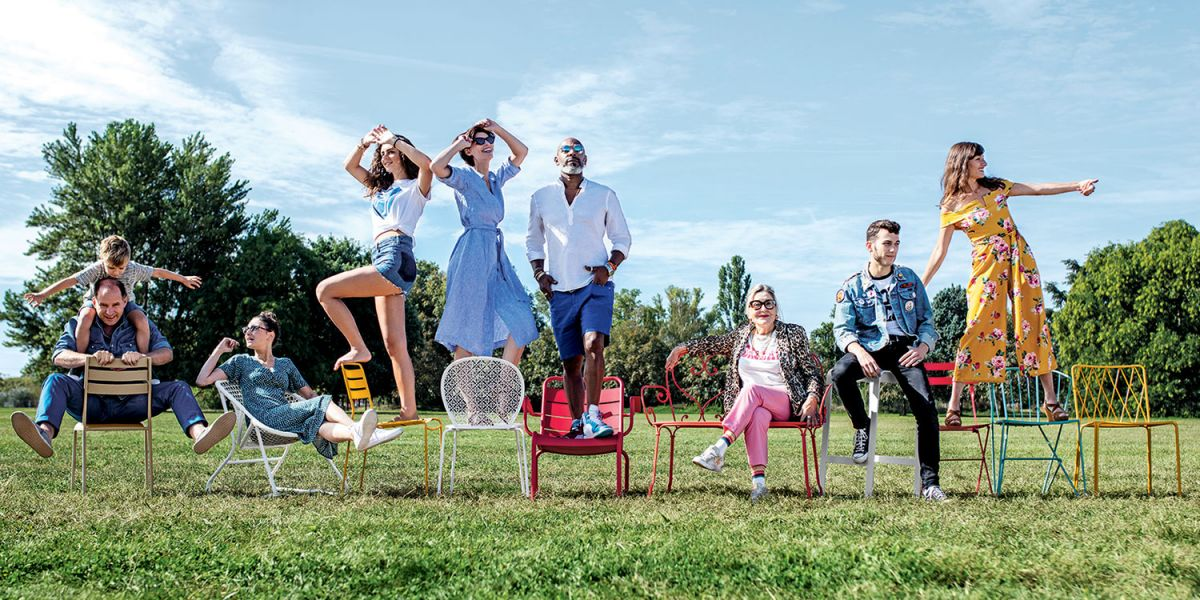 Fermob People - Fermob outdoor furniture 2019 collection available in New Zealand